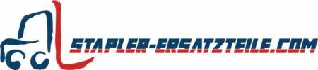 Logo Stapler-Ersatzteile.com mit Gabelstapler in Rot-Blau